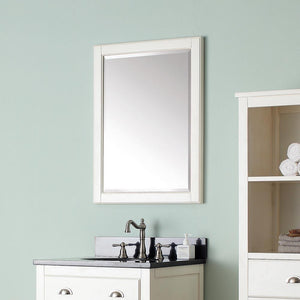 Ronan Framed Vanity Mirror - French White