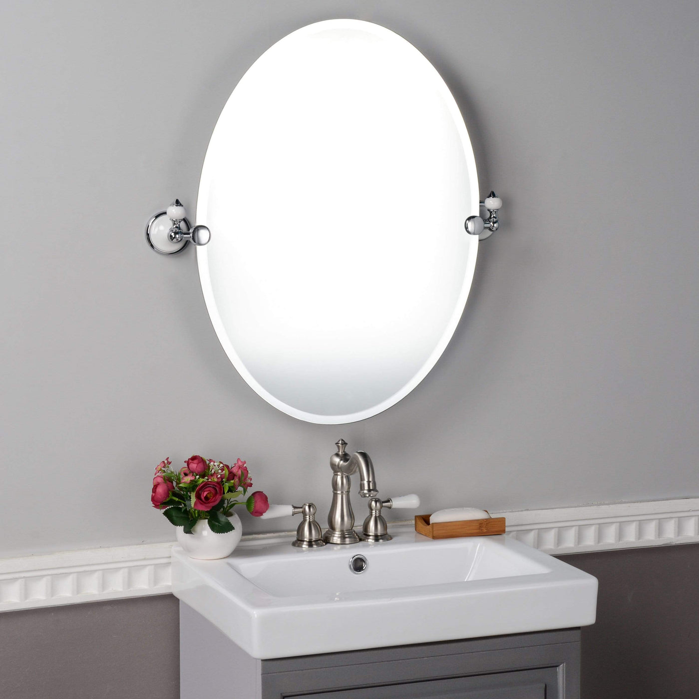 Ryder Oval Tilting Mirror Magnus Home Products