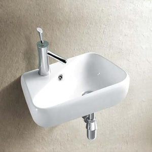 Saranac Vitreous China Wall-Mount Bathroom Sink