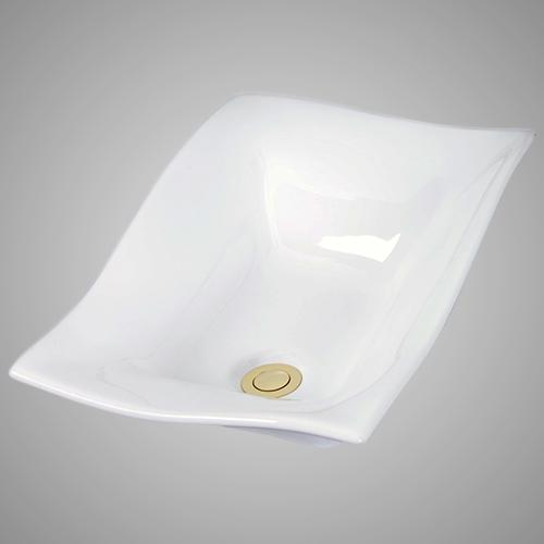 Sartell Vitreous China Semi-Recessed Sink