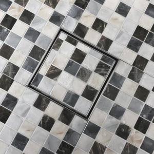 6 x 6 linear tile-in shower drain