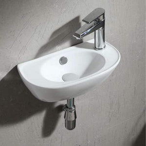 Sedgwick Vitreous China Wall-Mount Bathroom Sink