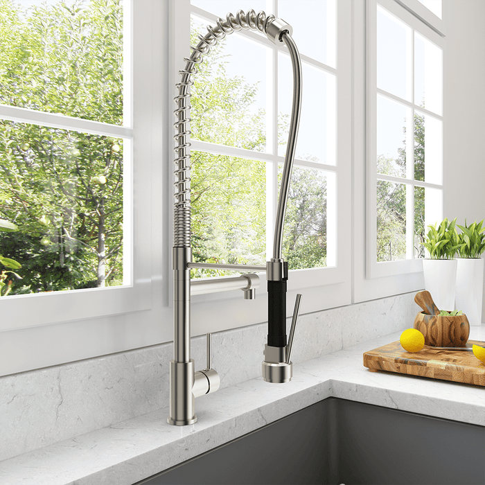 Selpy Kitchen Faucet with Spring Spout