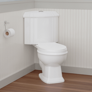 Seneca Dual-Flush Two-Piece Corner Toilet - Comfort Height