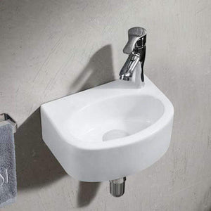 Sprague Vitreous China Wall-Mount Bathroom Sink