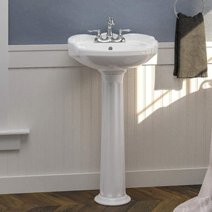 Stanfield Vitreous China Pedestal Sink - Large