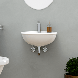 Sumter 100 Vitreous China Wall-Mount Sink