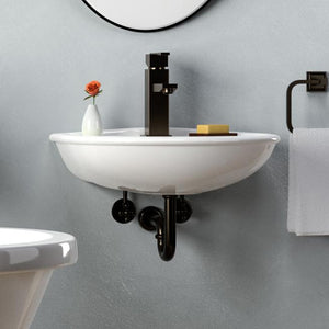 Sumter 200 Vitreous China Wall-Mount Sink