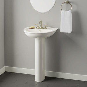 Sumter 300 Vitreous China Pedestal Sink