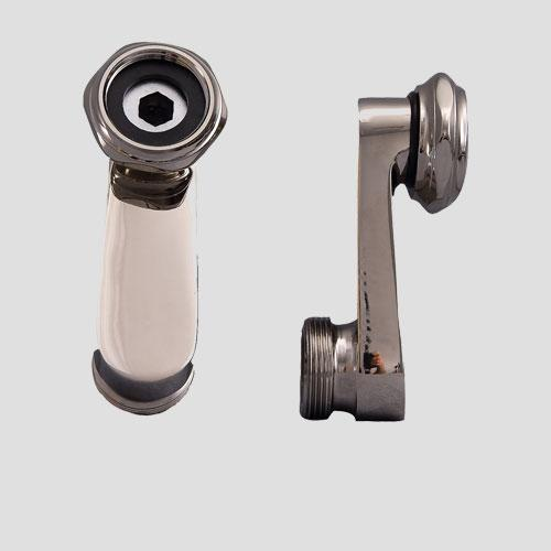 Swivel-Arm Couplers for Deck-Mount Tub Faucets