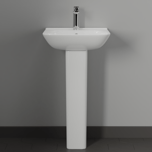 Timberon 100 Vitreous China Pedestal Sink