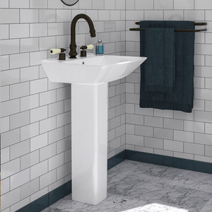 Timberon 200 Vitreous China Pedestal Sink