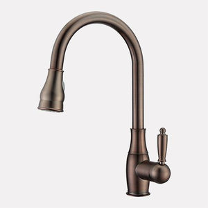 Tiverton Single-Hole Pull-Down Kitchen Faucet