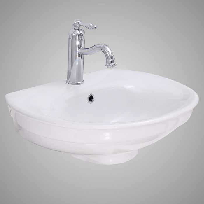 Tomah Vitreous China Wall-Mount Bathroom Sink