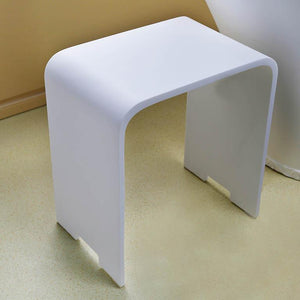 Trafalgar Resin Bath Stool