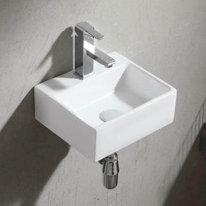 Trego Vitreous China Wall-Mount Bathroom Sink