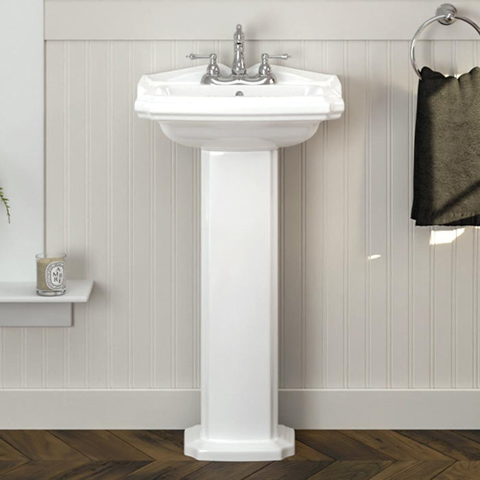Trigg Vitreous China Pedestal Sink
