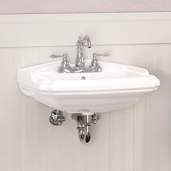 Trigg Vitreous China Wall-Mount Bathroom Sink