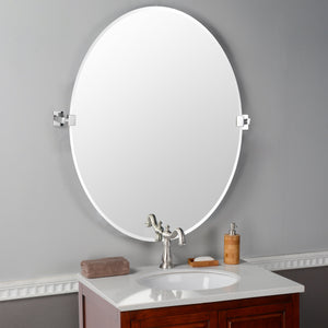 Upham Oval Tilting Mirror
