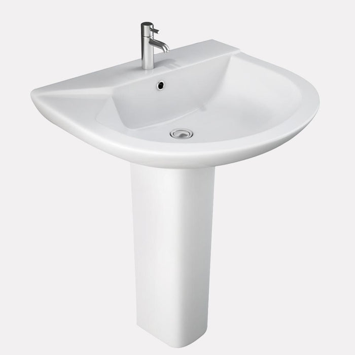 Valdosta 200 Vitreous China Pedestal Sink