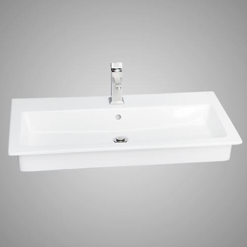Valrico 100 Vitreous China Drop-In Sink