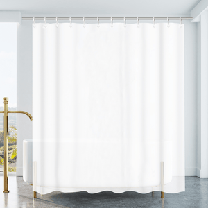 Vinyl Shower Curtain - Opaque