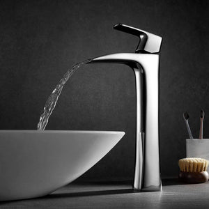 Waler Single-Lever Vessel Bathroom Faucet