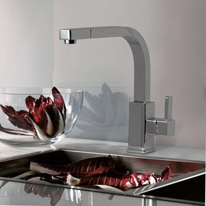 Walerian Single-Hole Pull-Out Kitchen Faucet