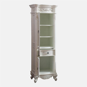 Warden Linen Storage Cabinet - Antique White