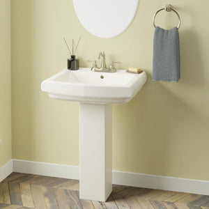Warrens Vitreous China Pedestal Sink