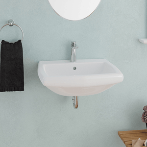 Warrens Vitreous China Wall-Mount Bathroom Sink