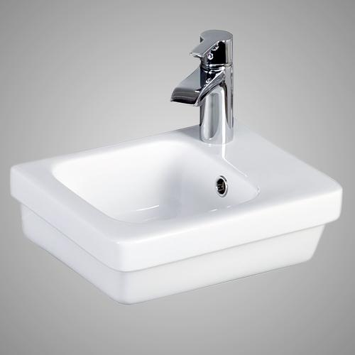 Waxhaw 100 Vitreous China Wall-Mount Sink