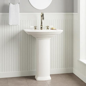 Waycross 300 Vitreous China Pedestal Sink