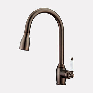 Worden Single-Hole Pull-Down Kitchen Faucet