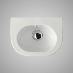 Zaden Fireclay Wall-Mount Bathroom Sink
