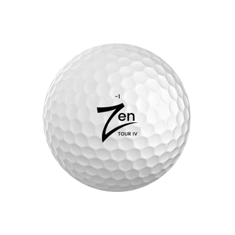pro tour golf ball with 4 piece layer zen golf ball. Black Bedroom Furniture Sets. Home Design Ideas