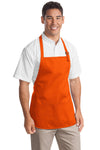 Port Authority® Medium-Length Apron with Pouch Pockets.  A510 - JPIBlanks.com