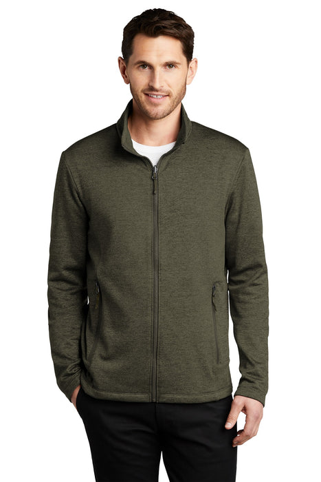 Port Authority ® Collective Striated Fleece Jacket. F905
