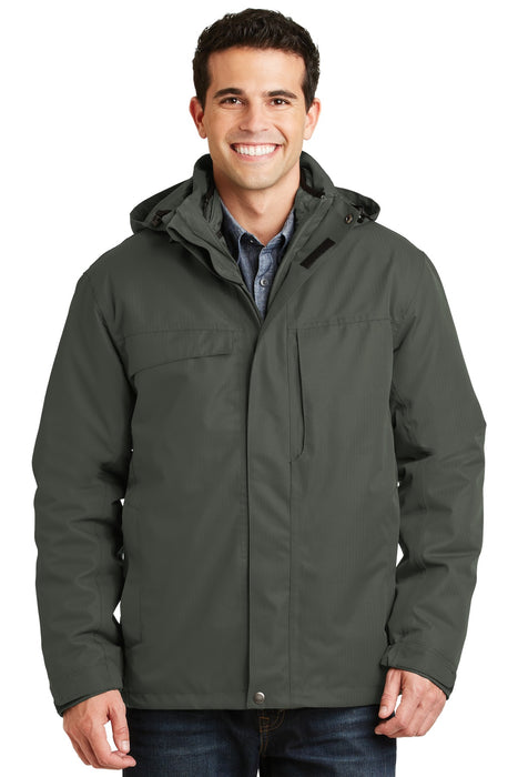 Port Authority® Herringbone 3-in-1 Parka. J302