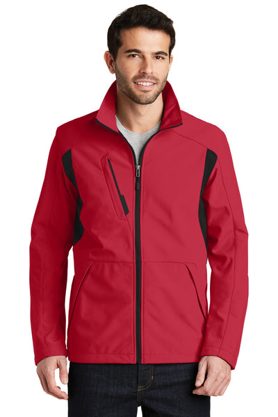 Port Authority® Back-Block Soft Shell Jacket. J336