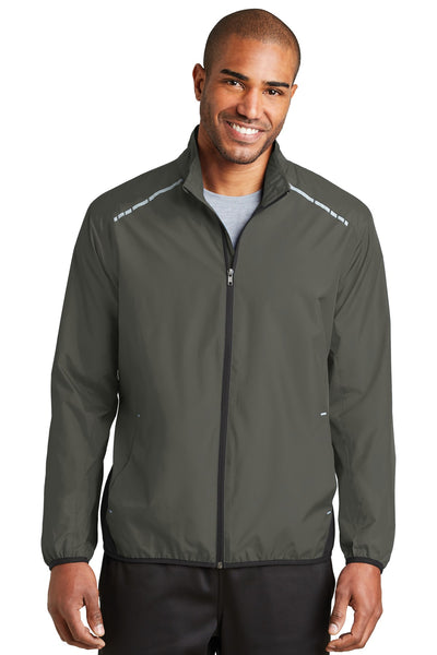 Port Authority® Zephyr Reflective Hit Full-Zip Jacket. J345