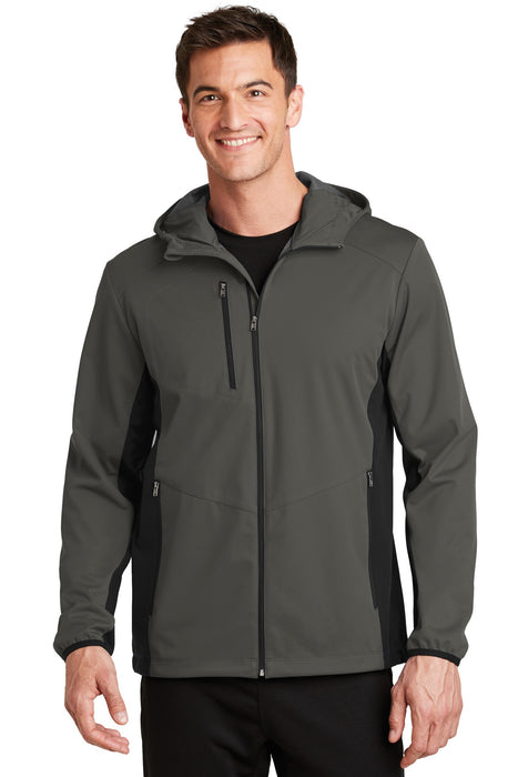 Port Authority® Active Hooded Soft Shell Jacket. J719