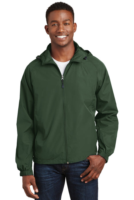 Sport-Tek® Hooded Raglan Jacket. JST73