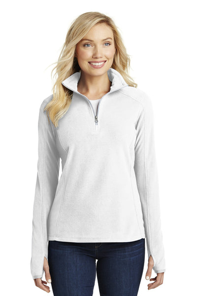 Port Authority® Ladies Microfleece 1/2-Zip Pullover. L224