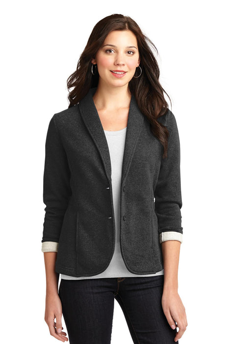 Port Authority® Ladies Fleece Blazer. L298