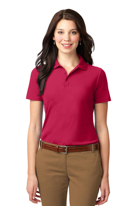 Port Authority® Ladies Stain-Resistant Polo. L510