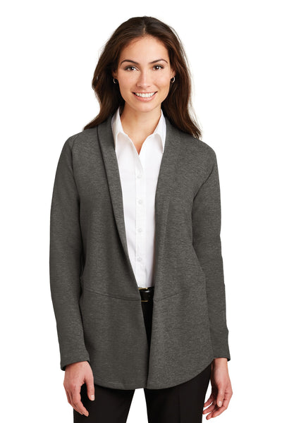 Port Authority® Ladies Interlock Cardigan. L807