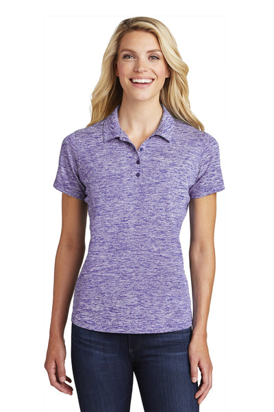 Sport-Tek ® Ladies PosiCharge ® Electric Heather Polo. LST590