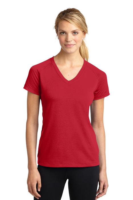 Sport-Tek® Ladies Ultimate Performance V-Neck. LST700