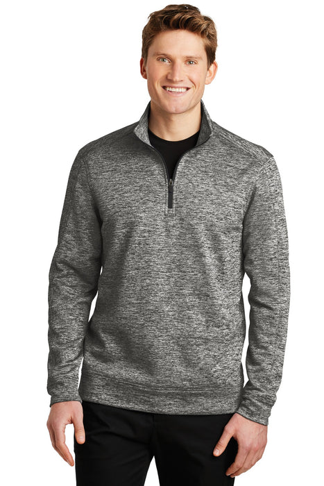 Sport-Tek® PosiCharge® Electric Heather Fleece 1/4-Zip Pullover. ST226